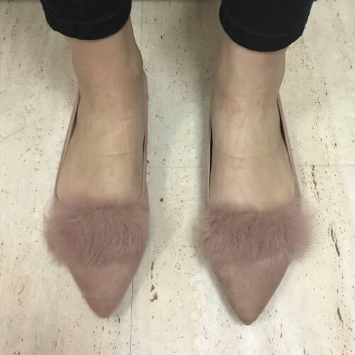 FURS Balerina cipő