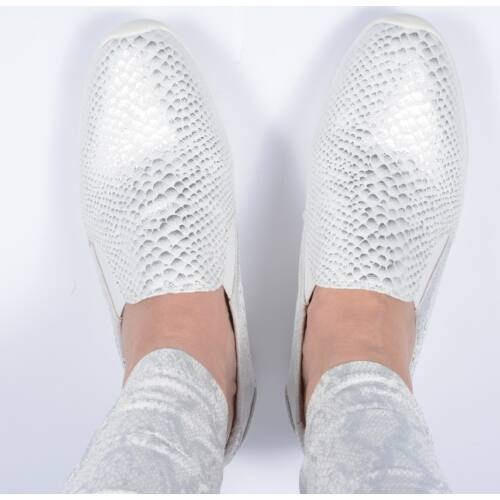 Krokkosilver slipon