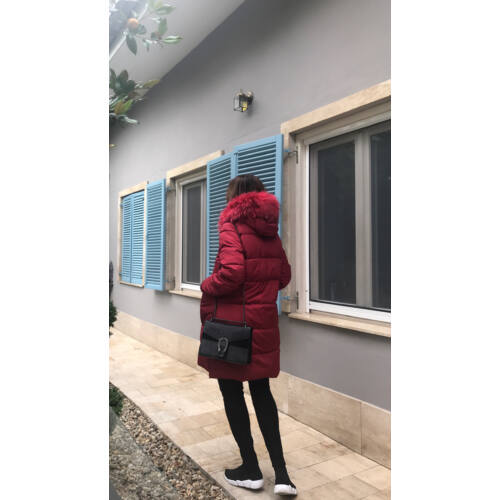 Bordo kabát